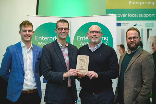 Image of Enterprising West awards presentation