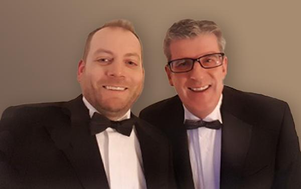 Paul Green and Dave Leaman - Outset Finance smash milestone