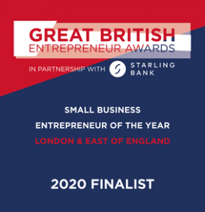 Small Business Entrepreneur of the Year 2020 - Finalist